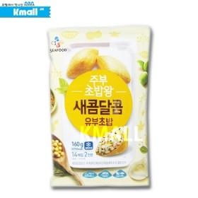 [냉동] CJ 프레시안 주부 초밥왕 (소) 160g 유통기한: