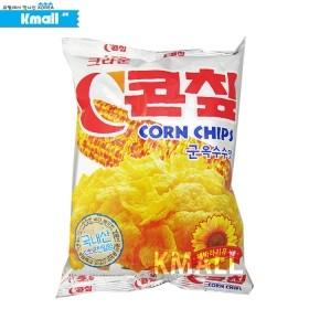 크라운 콘칩 70g 유통기한: