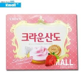 크라운 산도-딸기 161g 유통기한: