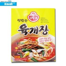 오뚜기 맛있는 즉석 육개장 38g
