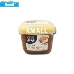 순창 바로찌개 조개멸치 찌개된장 450g 유통기한: