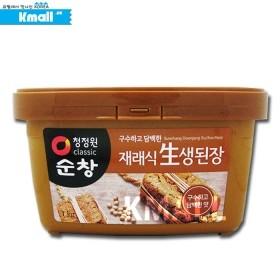 순창 재래식 생된장 1kg 유통기한: 180415