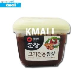 청정원 순창 고기전용 쌈장 450g 유통기한: