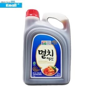 청정원 멸치액젓 3kg Sardellensauce 유통기한: