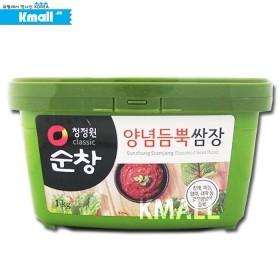 순창 양념 듬뿍 쌈장 1kg 유통기한: