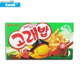 오리온 고래밥 볶음양념 맛 40g (상자) 유통기한: