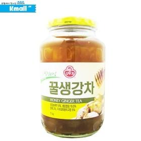 오뚜기 꿀 생강차 1KG 유통기한: