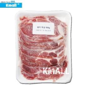 [냉동] 돼지고기 목살 500g