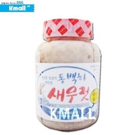 [냉동] 왕표 동백하 새우젓 500g