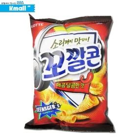롯데 꼬깔콘 (매콤달콤한맛) 77g