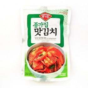 (냉장) 종가집 맛김치(한국산) 1kg 유통기한: