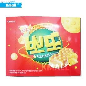 크라운 뽀또 치즈 타르트 대용량 368g 유통기한: