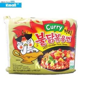 [멀티팩] Curry 커리 불닭볶음면 140g x 5