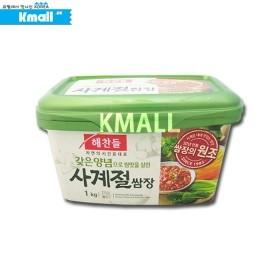 해찬들 사계절 쌈장 (大) 1kg 유통기한: