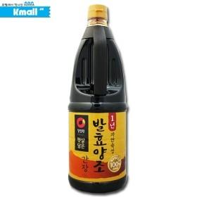 청정원 '1년' 자연숙성 발효 양조간장 1.7L