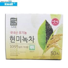 녹차원 유기농 현미녹차 60g(50T x 1.2g)