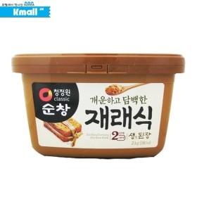 순창 재래식 안심 생된장 2kg